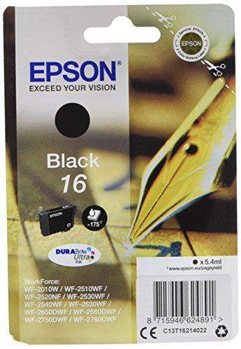 Epson - Cartouche d'encre Durabrite Noir 16