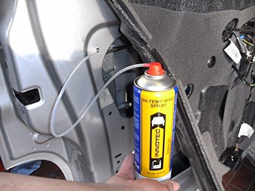 Innotec Hi-Temp Wax Spray Unterboden und Hohlraumschutz Fettspray Schwarz 500ml …