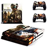 Playstation 4 Skin Set – World War - HD Printing Vinyl Skin Cover Protective for PS4 Console and 2 PS4 Controller by okanhyeu