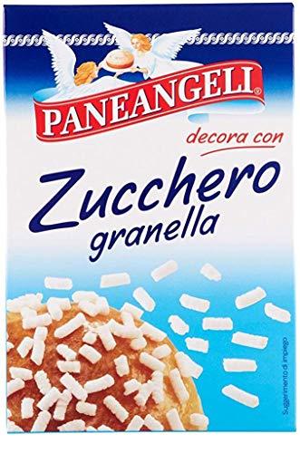 6x Paneangeli Zucchero granella Kornzucker 125 gr