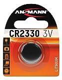 Ansmann 1516-0009 CR 2330 - Pilas de botón, batería litio - 3V