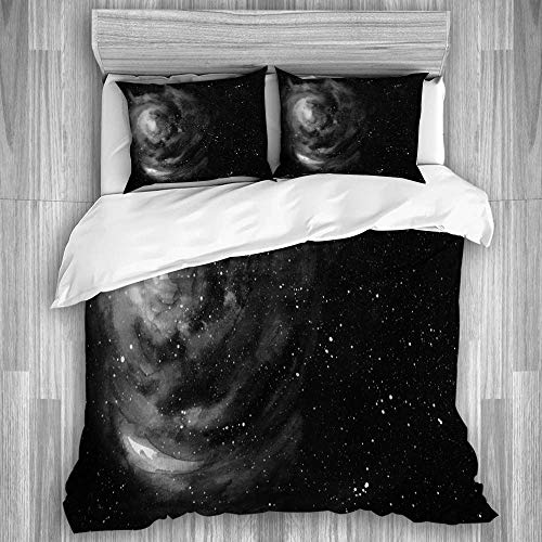 3-teiliges Bettwäsche-Set, Space...