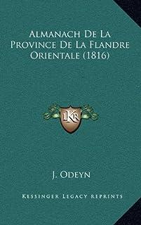 Almanach de La Province de La Flandre Orientale (1816)
