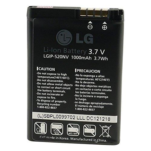 Batteria BL40 New Chocolate originale LG LGIP-520N agli ioni di litio, 1000 mAh, 3,7 V, per LG BL40 New Chocolate