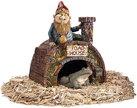 Garden Classic Gnome Statue - Toad Ranking TOP13 Frog Fai House