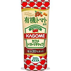カゴメ 有機トマト使用ケチャップ 300g×3個
