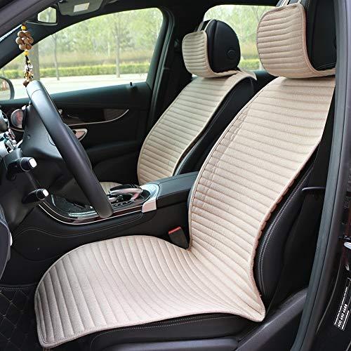 Protectores de fundas de asiento de coche Adaptarse a la mayoría de automóviles, cubiertas de camiones, en el interior de los coches Proteger asiento delantero asiento de coche del amortiguador de lin