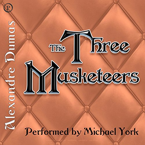 The Three Musketeers audiobook cover art