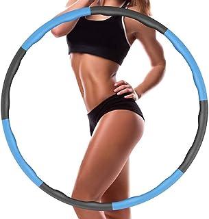 Gutsbox Hula Hoop op, koło fitness, koło fitness, 95 cm utrata wagi, wyjmowane 6-8 węzłów, koła Hoola Hoop, odpowiednie do...