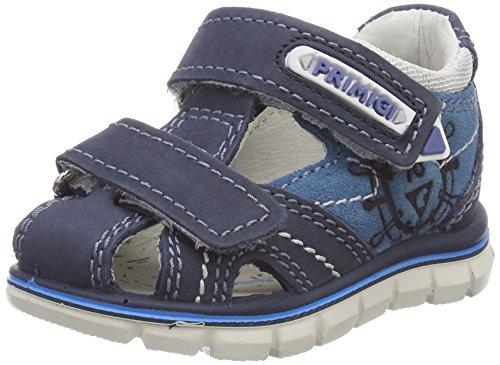 PRIMIGI Jungen PTZ 13631 T-Spangen Sandalen, Blu (Azzurrobaltic), 23 EU