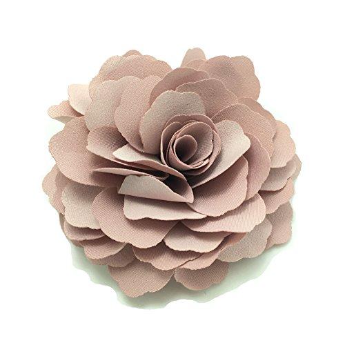 Meilliwish Camelie Fiore Molletta E Pin di Brooch (A74)(Rosa)