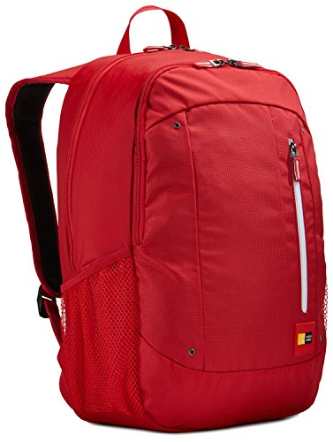 Case Logic WMBP-115 15.6-inch laptop en tablet rugzak Ginko Racing Rood