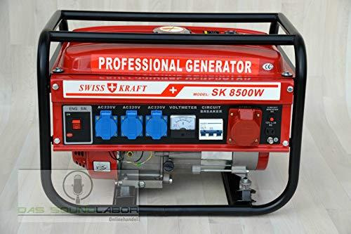 Kraftech / Benzin / Petrol / Stromerzeuger / Generator / PK-6500W / Stromgenerator / Aggregat / Notstromaggregat /Stromaggregat / NOT Strom / Neu