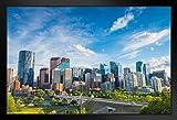 Fotoposter, Motiv Calgary Alberta Kanada Downtown Skyline,