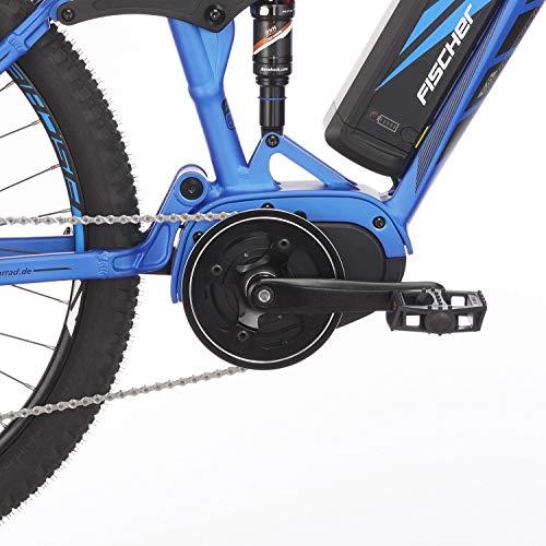 E-MTB FISCHER  MTB EM 18621 (2019) blau matt E-Mountainbike kaufen  Bild 1*