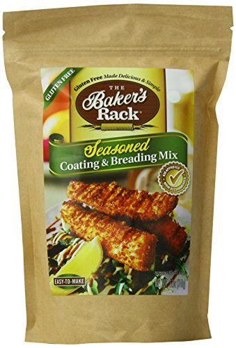 Baker's Rack Gluten Free Seasoned Breading Mix, 12 Ounce