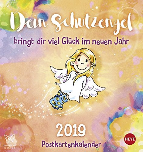 Schutzengel Postkartenkalender - Kalender 2019