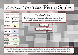 Accurate First Time Piano Scales: Book 5 – Teachers' Book (Piano Scales Practice Charts) by [Ellie Hallett]