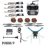 QWinOut High-Powered DIY GPS Drone S500 PCB APM GPS M8N 700KV 30A 4400MAH 30C 4-Axis Aircraft Racer with Camera Gimbal PTZ (NO Battery NO Gimbal)