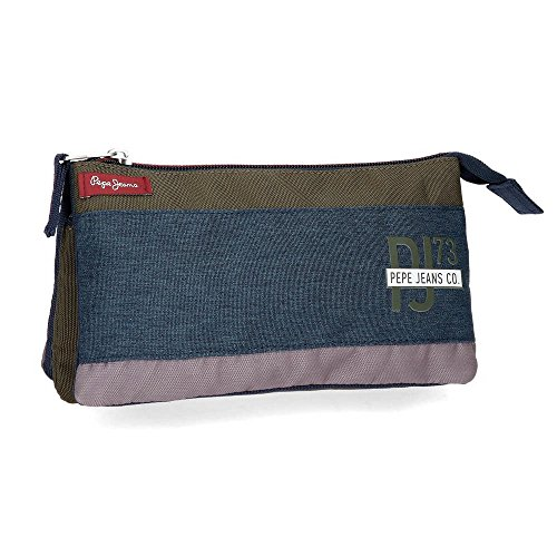 Trousse 3 compartiments Pepe Jeans Trade