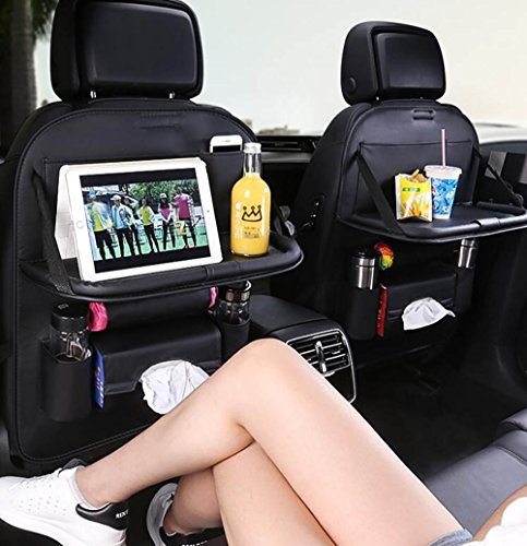 Buy Bargain QXXZ Multi-Purpose Pocket Car Seat Back Organizer PU Leather Storage Bag Phone/Drink Hol...