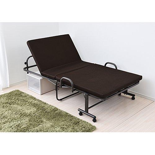 コーナン オリジナル 折り畳み低反発ベッド KR18-0066 104×202.5×高さ55.5cm