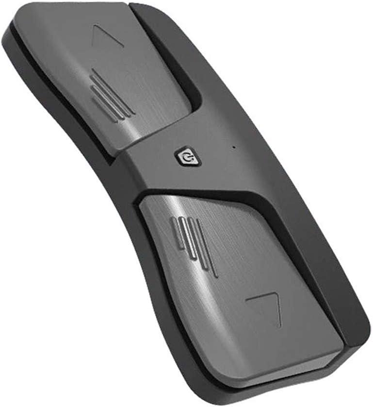 Haihui Pedal inalámbrico para violín, violín, piano, instrumento duradero, inteligente, útil, solo interruptor de pie inalámbrico, Bluetooth