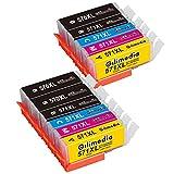 Gilimedia 570XL 571XL Cartucce d'inchiostro per Canon PGI 570 CLI 571 per...