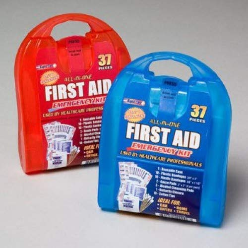 Rapid Care First Aid CD-80006 37 Piece All-In-One First Aid Kit, Pack of 6