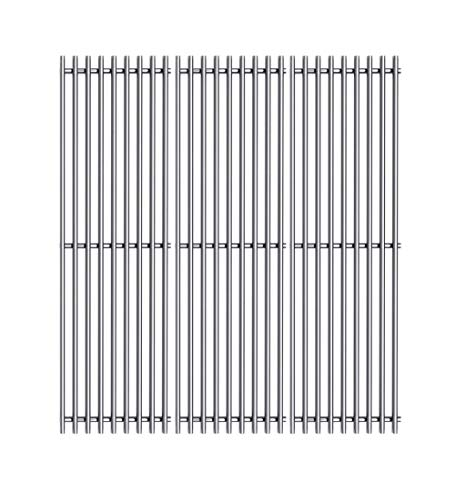 Htanch SES531 (3-Pack) 19 1/4' Stainless Steel Cooking Grid Grates for Nexgrill Classic CG4TCBRN, CG4TCN, CG5TCBRN, Nexgrill 720-0008-T 720-0335 Perfect Flame 720-0335