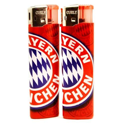 FC Bayern München Feuerzeug/Lighter 2er Set FCB