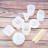 Herramienta para hacer joyas Accesorio de bricolaje de silicona fácil de limpiar, para decoraciones de manualidades