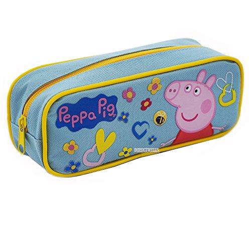 Peppa Pig Authentic Licensed Pencil Case (Blue)