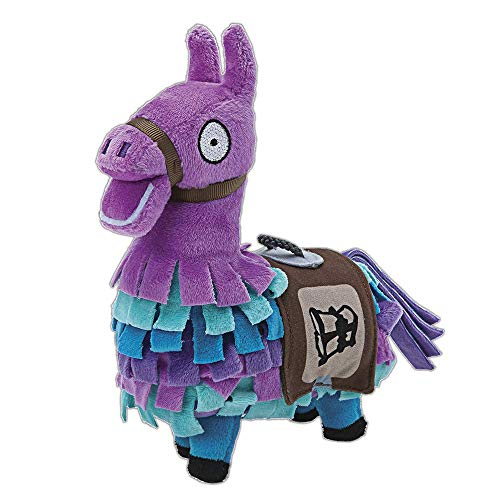 Toy Partner- Fortnite Peluche Llama, Color Rosa,Lila,Azul (