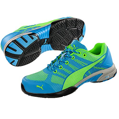 Puma 642900.39Celerity Knit Blue Zapatos de Seguridad para Mujer Low S1P HRO SRC Talla 39