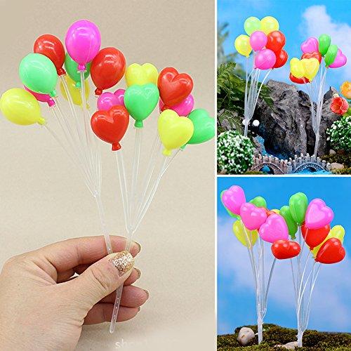 CVERY 1 ramo de globos para decoración de tartas, para fiestas en el hogar, paisaje microscópico decorativo, As Picture Show, style 1