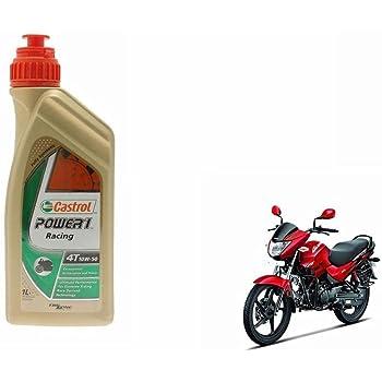 Castrol Power1 10w 50 4t Bike Engine Oil Hero Glamour 1l Amazon