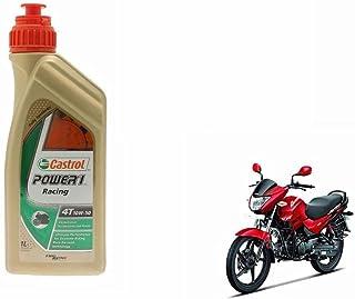 castrol Power1 10W-50 4T Bike Engine Oil-Hero Glamour, 1L