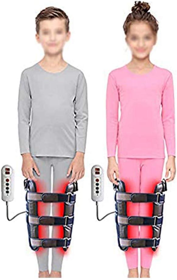 DFJU Corrector de piernas eléctrico, Correas para enderezar la Banda para Corregir Varios Tipos de piernas, corrección de la Pierna del Anillo para niños Adultos