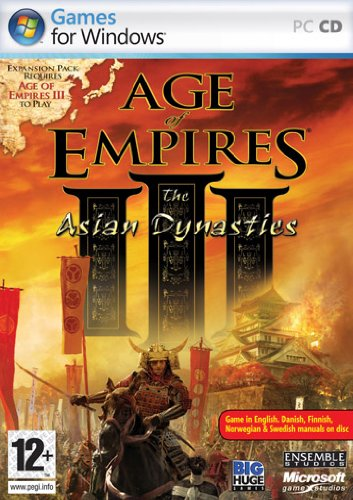 Age of Empires III: Asian Dynasties [Pegi]