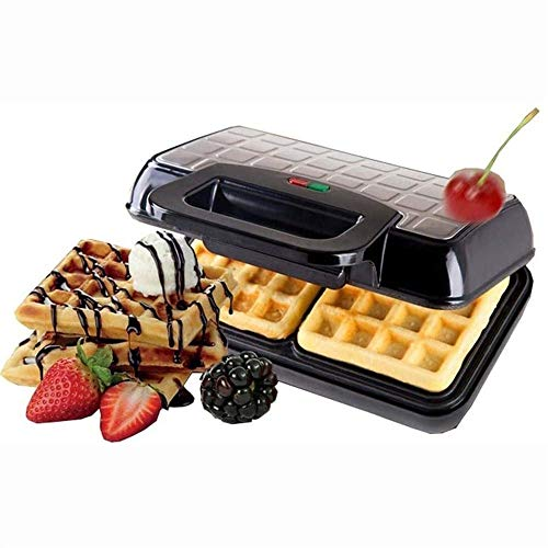 Fantastic Deal! XYWCHK Waffle Maker - Non-Stick Waffler Griddle Iron with Browning Control with Cool...