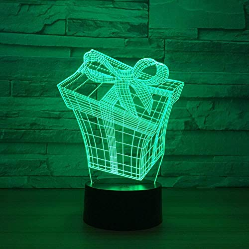 Nachtlampje 3D lamp Smart Haifiskop decoratie nachtkastje met USB-kabel Het beste cadeau voor kleinkinderen, kleinkinderen, zoon Interruttore del telecomando Stile 175