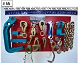 5 Star 16 Piece Heavy Duty AUTO Body Frame Machine Pulling Tools and Clamps Set