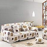 Conjuntos de sofás de Cuero con Todo Incluido, Funda Universal, Toalla, Tela de Verano, cojín para sofá, Funda para sofá, Funda dúo, Funda Completa A2, 2 plazas