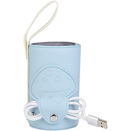 Borsa da Viaggio Portatile in riscaldatori per Auto Borsa termostatica per Latte Caldo,Scaldabiberon USB,Borsa Termica per scaldabiberon USB