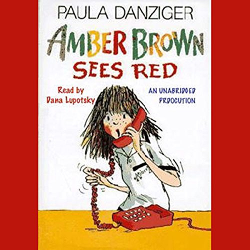 Amber Brown Sees Red audiobook cover art