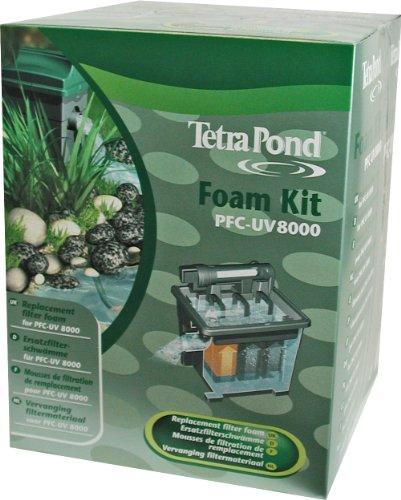 Tetra 163485 Pond Ersatz-Filtermaterial PFC-UV 8000 (Filtermaterial für PFC-UV Durchflussfilter)