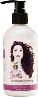 Anveya Curls Cleansing Shampoo for Curly Hair, 250ml