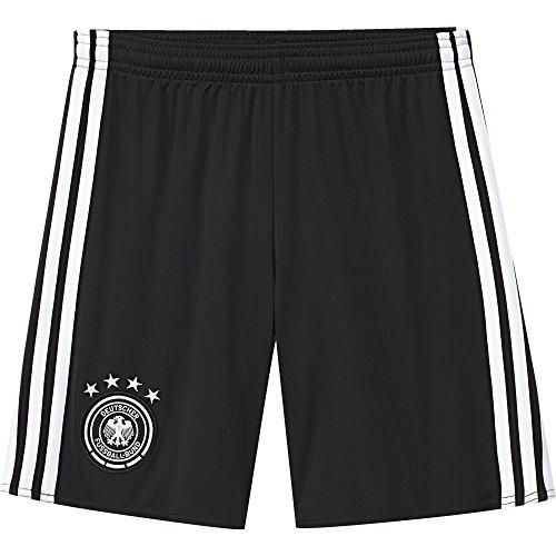 adidas Jungen Heimshort DFB Replica, schwarz/weiß, 176, AA0145