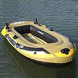 Kayak Hinchable, Barca Hinchable con Remos, Bote De Pesca De Bote Inflable para 3 Personas Resistente De PVC, Soporte hasta 250 KG